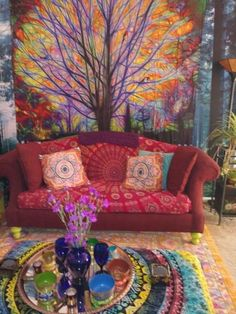 """Esteemed modern bohemian home decor View features A Little Of It, A Little Of It: What Is Eclectic Decoration, How Is It Applied? """"I don't think any style of decoration reflects me fully. Bohemian House, Bohemian Living, Bohemian Room, Boho Home, Modern Bohemian, Bohemian Decor, Bohemian Design, Funky Home Decor, Hippie Home Decor"""