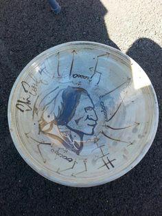 Chris Cooley pottery art #httr