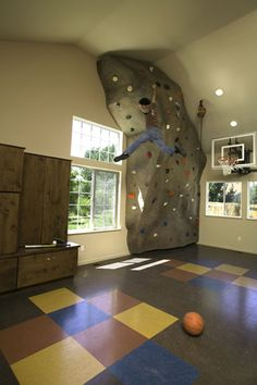 awesome collection of home climbing wall pics - Home Climbing Wall Designs