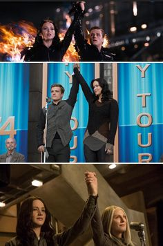 My how things have changed.... #TheHungerGames #MockingjayPart1