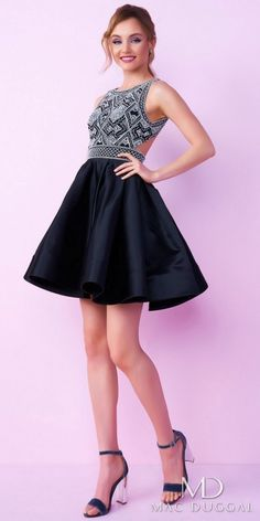 Mac Duggal Embellished Fit and Flare Homecoming Dress  http://shopstyle.it/l/fhYn