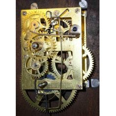Sessions Repair / Rebuild Service For The Sessions Time Only Clock Movement