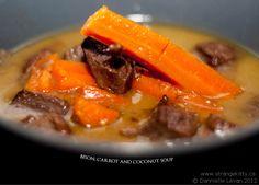 Bison, Carrot & Coconut Soup #Strangekitty