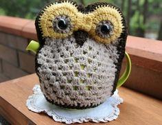 Image of 'Mr Hoot' Owl Tea Cosy