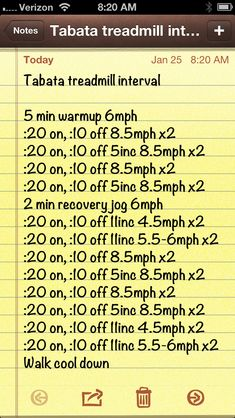 Image result for treadmill tabata workouts