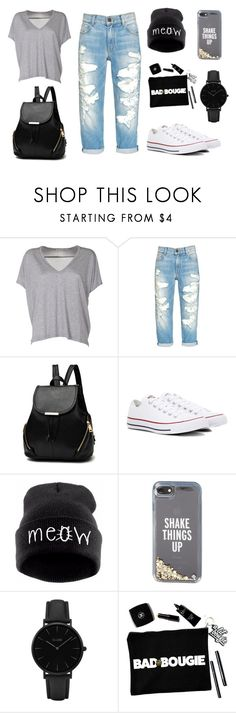 """""""Back to School #3"""" by starmarjerine on Polyvore featuring Acne Studios, Converse, Kate Spade and CLUSE"""