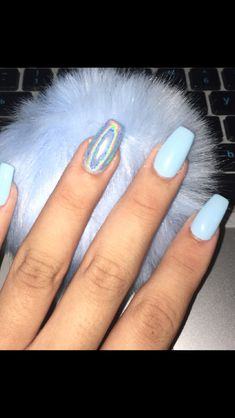 top perfect lovely nail acrylic designs ideas to wear this summer 57 Summer Acrylic Nails, Best Acrylic Nails, Acrylic Nail Designs, Aycrlic Nails, Hair And Nails, Manicure, Coffin Nails, Crome Nails, School Nails