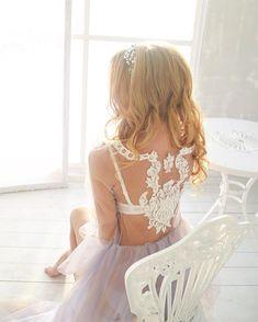 Будуарное платье, фатиновое платье, кружево, невеста, утро невесты, будуар, сиреневое платье