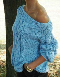 Diy Crafts - Fashion Trends Every Girl Should Try outfit fashion casualoutfit fashiontrends Hand Knitted Sweaters, Mohair Sweater, Hand Knitting, Knitting Patterns, Warm Dresses, Diy Fashion, Fashion Trends, Cardigans For Women, Pulls