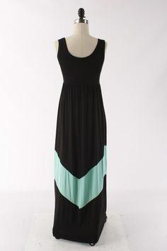Kiki La'Rue - Taylor Tank Dress - Black/Mint , $48.00 (http://www.kikilarue.com/taylor-tank-dress-black-mint/)