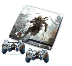 Cool Assassin Skin Sticker for PS3 Slim Consol 2 Matching PS3 Controller Games #UnbrandedGeneric