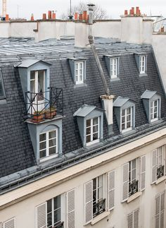 paris rooftop views rue jacob #parisrooftops #paris #everydayparisian #leftbankparis
