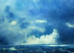 Irish Landscape   'Storm over Dublin'  Irish Landscape painting  Irish Art