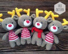 Amigurumi Deer Free Pattern