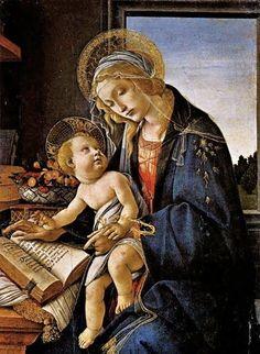 Sandro Botticelli (1445-1510) Madonna del Libro, 1483