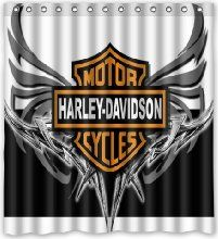 Harley Davidson Shower Curtain   Google Search | Harley | Pinterest | House