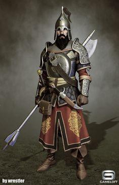 Arab Knight  Render, Georgi Georgiev on ArtStation at https://www.artstation.com/artwork/Z34Nx