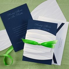 Perfect Wrap Invitation - Midnight  http://www.aninvitingevent.carlsoncraft.com