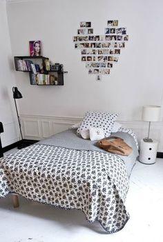 diy heart pictures bedroom decor bed interior design modern bedroom black and white bedroom