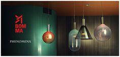 Les luminaires sont produis par BOMMA basé en  République tchèque qui fait appel aux plus grands designers pour créer ses collections