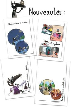 Pages de garde Cycle 2 le Loup Cycle 2, Montessori, Homeschool, Projects To Try, Clip Art, Classroom, Teaching, Education, Kids