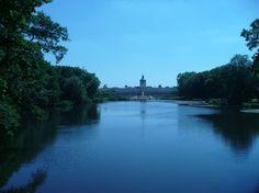 #charlottenburg #park #schlosspark #schlossgarten #berlin #niemcy #zwiedzanie #spacer #gratis #jezioro #pałac #zamek #widok
