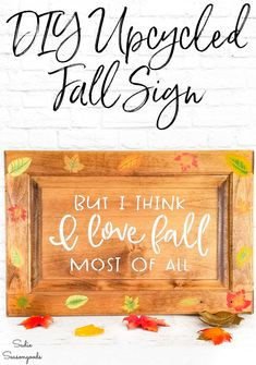 Fall leaves are so gorgeous, aren't they? Especially the ones with a gradient of colors. And you can easily paint fall leaves with this stenciling technique- perfect for an autumn sign or fall leaves decor of any kind! #cabinetdoor #cabinetdoorsign #Falldecor #Fallcrafts #fallleaves #autumn #autumndecor #Fallhomedecor #Ilovefall #autumncrafts #fall Autumn Crafts, Thanksgiving Crafts, Thanksgiving Decorations, Easter Crafts, Christmas Crafts, Christmas Decorations, Holiday Decor, Upcycled Crafts, Repurposed