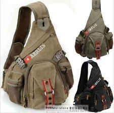 6212 AERLIS man`s canvas cotton Chest bag durable Shoulder Sling Messenger Bag One Strap Backpack, Sling Backpack, Sling Bags, Tactical Wear, Tactical Life, Shoulder Sling, Shoulder Bag, Oakley Backpack, Fly Fishing Gear