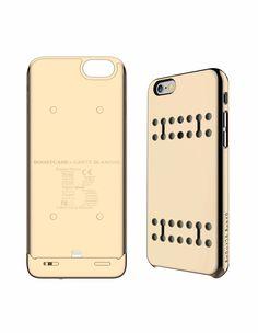 Gold Battery Case Detachable