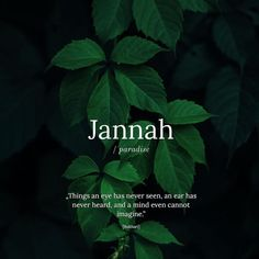 """As long as we die in Islam, Jannah will be our final abode ~ """"hum fiha khalidoon"""" ~ In shaa allah 💕 Unusual Words, Weird Words, Rare Words, Religion Quotes, Islam Religion, Islam Beliefs, Allah Islam, Hadith Quotes, Muslim Quotes"""