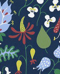Tapet Herbarium 02 från Boråstapeter  Stig Lindberg