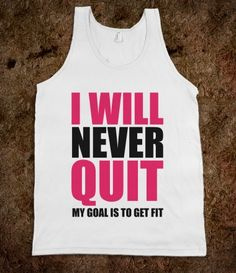 I need this shirt for motivation!