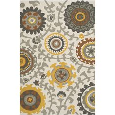Safavieh Handmade Cedar Brook Citron/ Ivory Cotton Rug (6' x 9') - Overstock Shopping - Great Deals on Safavieh 5x8 - 6x9 Rugs