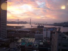 Busan korea Busan Korea, Seattle Skyline, Celestial, Sunset, Travel, Outdoor, Outdoors, Viajes, Destinations