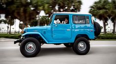 1978 Toyota Land Cruiser FJ40 Sky Blue by FJ Company