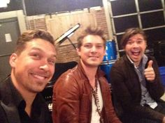 Hanson selfie from the Feb. 22 livestream.
