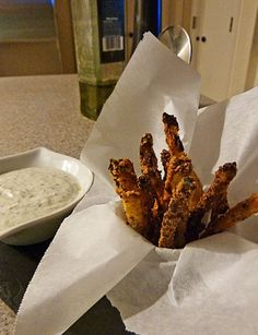 Fluffy Chix Cook: Low Carb Zucchini Fries and Yellow Squash Fries Too