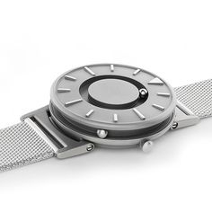 """We started out thinking about what kind of watch would work for blind users and we struck upon this idea of using ball bearings rotating around a track to indicate the minutes and the hours on the dial,"" Zacher told Dezeen #watches #design"