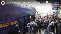 Il Barcellona arriva a Napoli tra cori e applausi: Messi Messi – VIDEO Messi Videos, Cori, Campione, Champions League, Concert, Concerts, Festivals