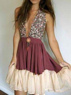 burgundy dress (mysundayfeeling)