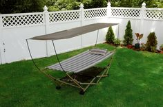 Bliss Hammocks Foldable Hammock and Stand with Canopy BH-805