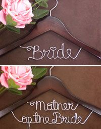 Great for photos of the brides dress as well as a wedding shower gift idea!