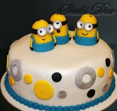 Minions cake, minions torta