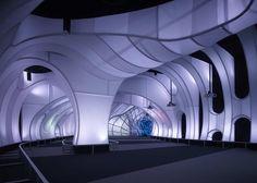 Thomas Roszak Architecture : Adler Planetarium Welcome Gallery - #architecture