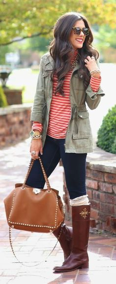 Fall Colors Outfit Idea                                                                             Source