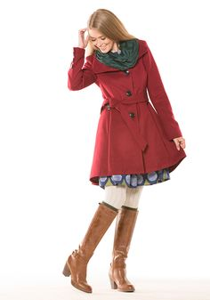 Stay warm and cozy in our assortment of seasonal outerwear at ModCloth! Shop your favorite coat styles for winter or trench coat styles to welcome spring! Sweater Weather, Chilly Weather, Trench Coat Style, Fashion Gallery, Outerwear Women, Modcloth, My Style, Indie Style, Autumn Winter Fashion