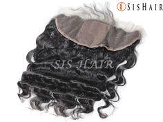Brazilian Virgin Hair 13×4″ Silk Base Lace Frontal Closure Loose Wave