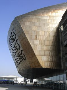 The Millennium Centre, Cardiff-- in these stones horizons sing. Visit Cardiff, Cardiff Wales, Cardiff City, Places To Travel, Places To See, Places Ive Been, Cities In Wales, Visit Wales, Famous Castles
