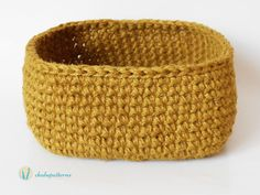 Hemp basket/Canasta de hemp