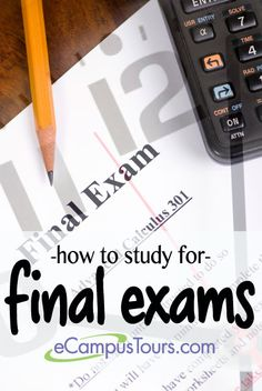 how to study for final exams